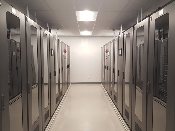 SmartRow Vertiv Data Center Installation